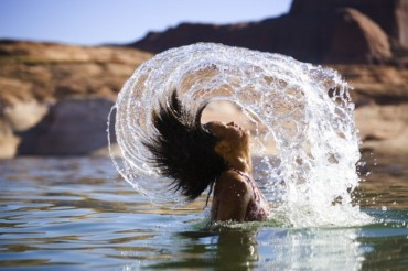 Agua cabello